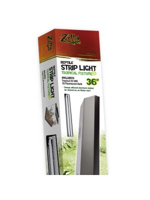 Zilla Reptile Strip Light Tropical Fixture T8