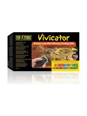 Exo Terra Vivicator Vibrating Feeding Dish