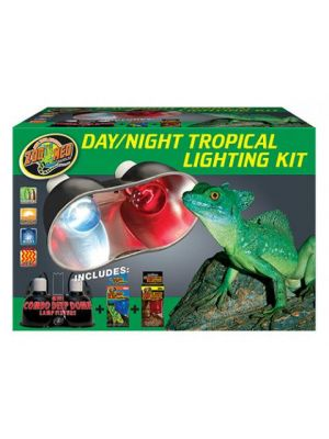 Zoo Med Day/Night Tropical Lighting Kit