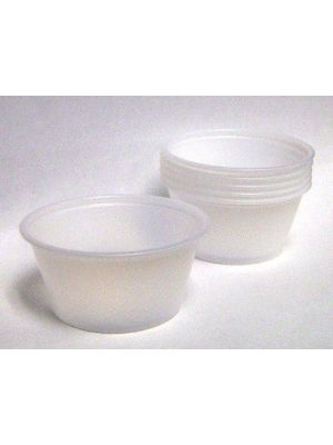 Disposable 2oz Portion Cups Clear