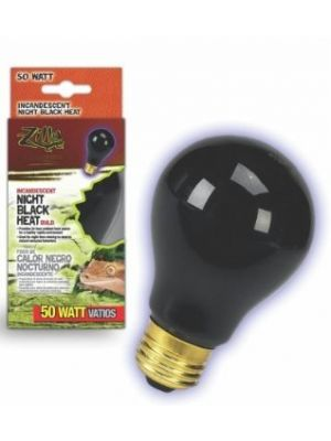 Zilla Incandescent Night Black Heat Bulb