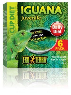 Exo Terra Cupped Iguana Food 6 Pk