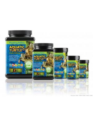 Exo Terra Floating Pellet Hatchling Aquatic Turtle Food