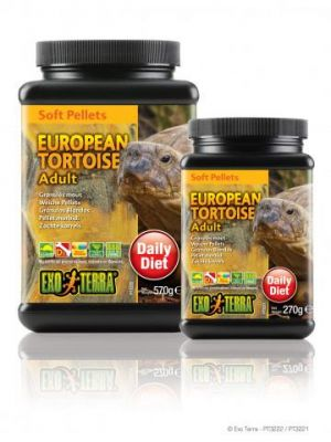 Exo Terra Soft Pellet Adult European Tortoise Food