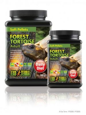 Exo Terra Soft Pellet Adult Forest Tortoise Food