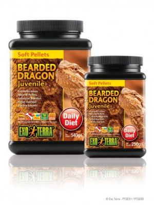 Exo Terra Soft Pellet Bearded Dragon Food