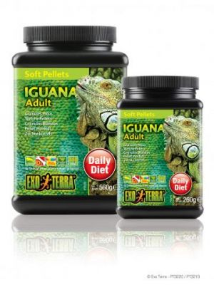 Exo Terra Soft Pellet Adult Iguana Food