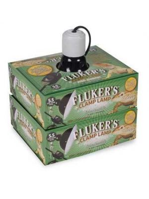 Fluker's Ceramic Clamp Lamp with dimmer