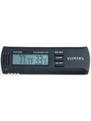 Fluker's Digital Thermometer Humidity Gauge