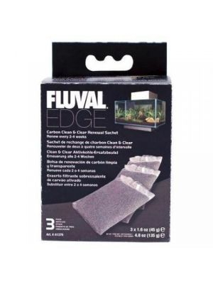 Fluval Edge Carbon Replacement 3 Pk