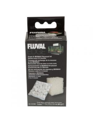 Fluval Edge Foam & Bio Max Renewal Kit