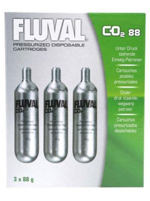 Fluval CO2 Replacement Cartridges 3 pk