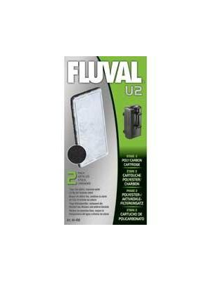 Fluval U2 Foam Replacement Poly Carbon Cartridge