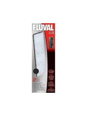 Fluval U3 Foam Replacement Poly Carbon Cartridge