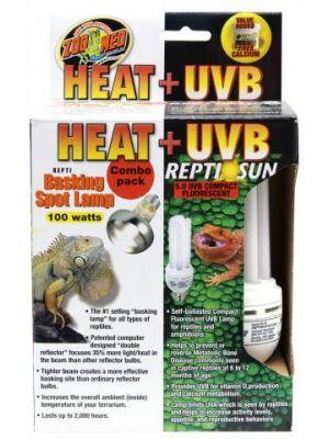 Zoo Med Combo Light- Heat and UVB