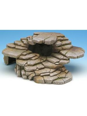 Penn Plax Shale Step Ledge & Cave Medium