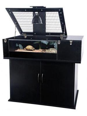 Penn Plax Tortoise Palace Combo Terrarium & Stand