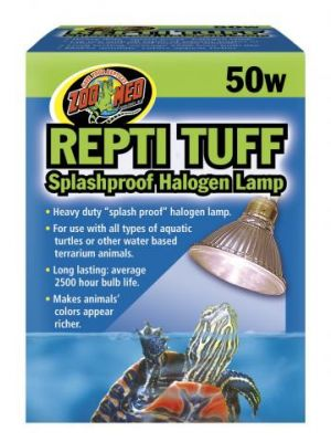 Zoo Med Turtle Tuff  (Splash-Proof Halogen)