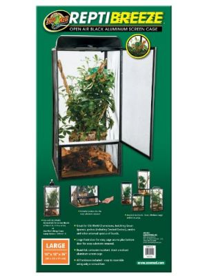 Zoo Med Repti Breeze Screen Cages