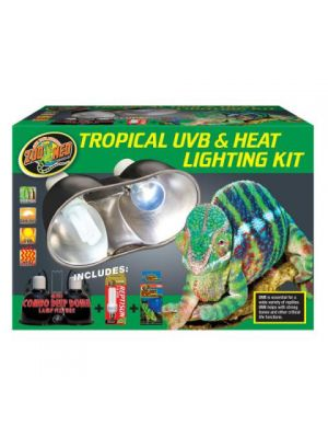 Zoo Med Tropical UVB and Heat Lighting Combo