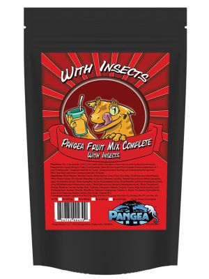 Pangea Fruit Mix™ With Insects Complete Gecko Diet