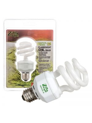 Zilla Tropical Series 25 Fluorescent Coil Bulb