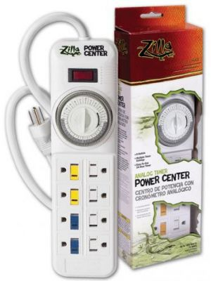 Zilla 24/7 Digital Timer Power Center