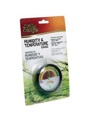 Zilla Analog Temperature & Humidity Gauge