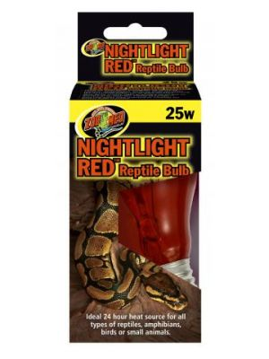 Nightlight Red Reptile Bulb