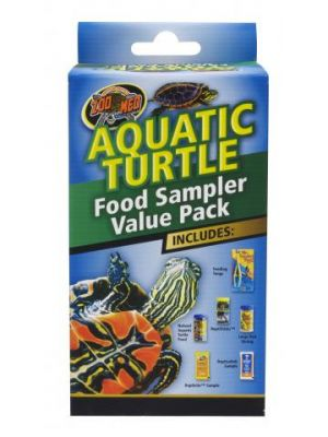 Zoo Med Aquatic Turtle Food Sampler