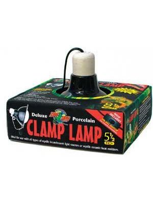 Zoo Med Black Ceramic Mini Clip Lamp