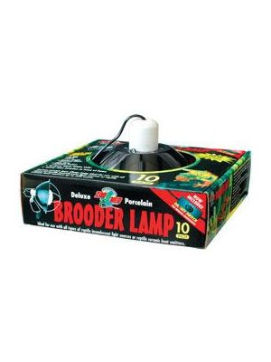 Zoo Med Brooder Black Ten Inch Ceramic Lamp