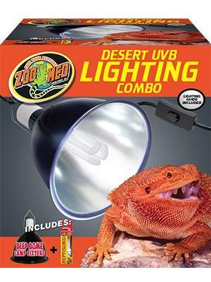 Zoo Med Desert UVB Lighting Combo