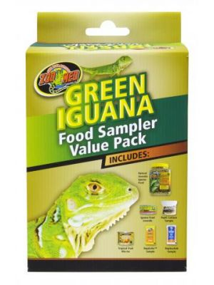 Zoo Med Green Iguana Food Sampler Value Pack