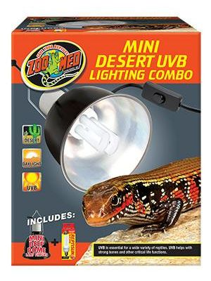 Zoo Med Desert UVB Mini Lighting Combo