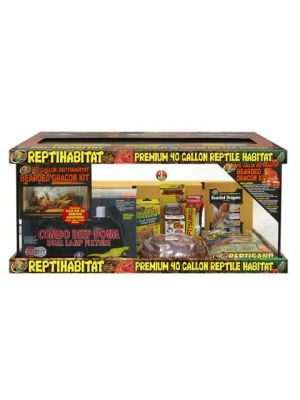 Zoo Med Repti Habitat Bearded Dragon Kit 40gl