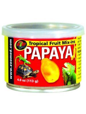Zoo Med Tropical Fruit Mix-ins Papaya