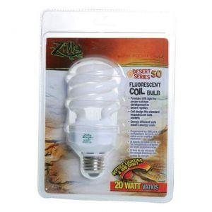 Zilla Desert Series 50 Fluorescent Coil Bulb 20W