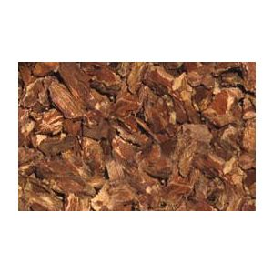 Painted Reptile Bark Bedding