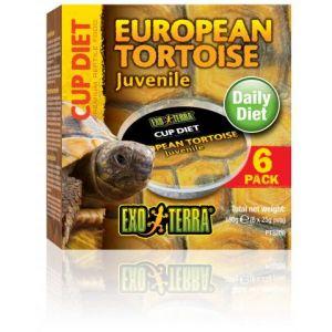 Exo Terra Cupped European Tortoise Diet 6 Pk