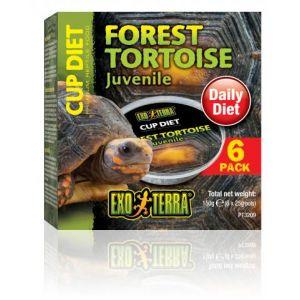 Exo Terra Cupped Forest Tortoise Diet 6 Pk