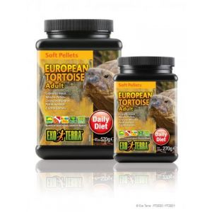 Exo Terra Soft Pellet Adult European Tortoise Food