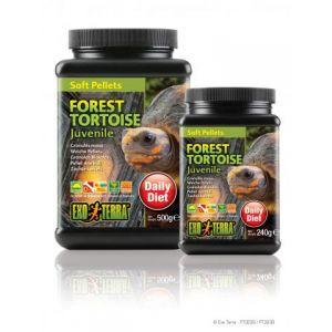 Exo Terra Soft Pellet Juvenile Forest Tortoise Food
