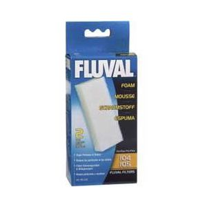 Fluval 106 Foam Replacement 2 pk