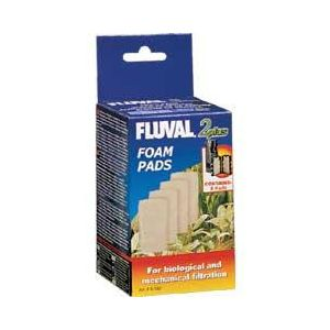 Fluval 2 Foam Inserts 4 Pk