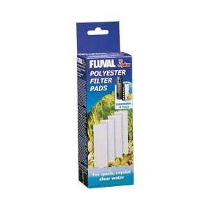 Fluval 3 Polyester Pads 4 Pk