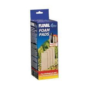 Fluval 4 Foam Inserts 4 Pk
