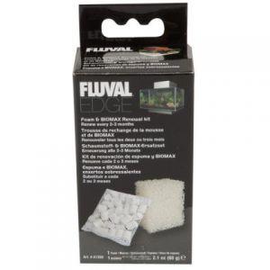 Fluval Edge Foam & Bio Max Renewal Kit
