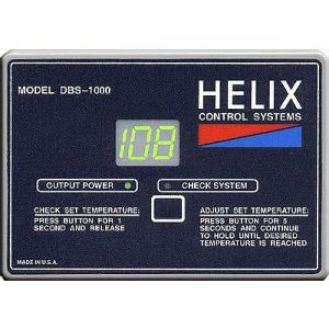 Helix DBS-1000 Thermostat with grounded plug