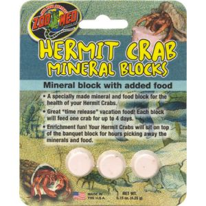 Zoo Med Hermit Crab Mineral Blocks